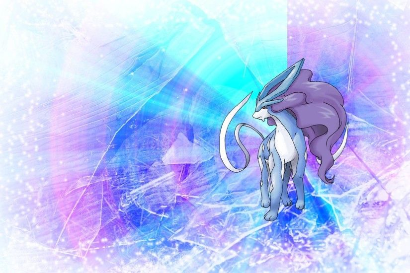Wallpapers For > Suicune Wallpaper