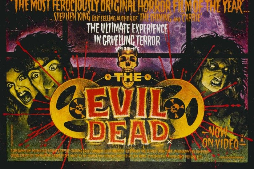 6 The Evil Dead Wallpapers | The Evil Dead Backgrounds
