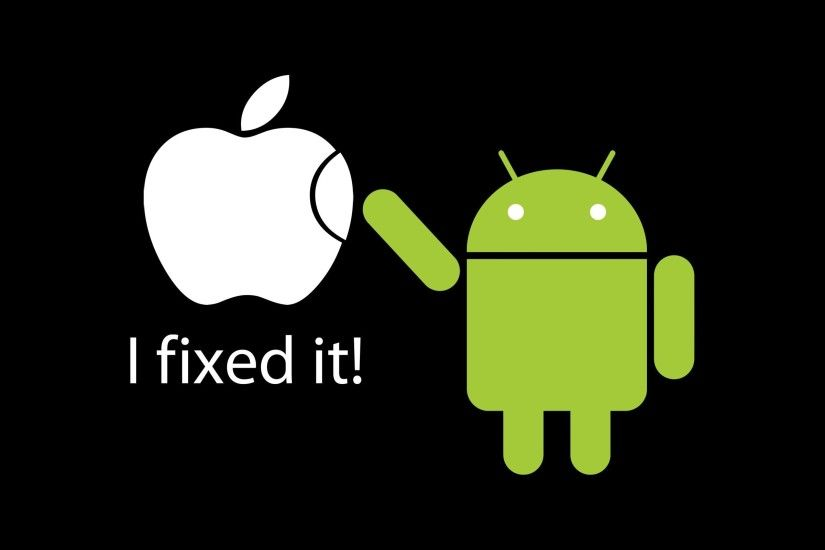 funny wallpapers apple vs android Funny wallpaper for your desktop and  mobile tablet.