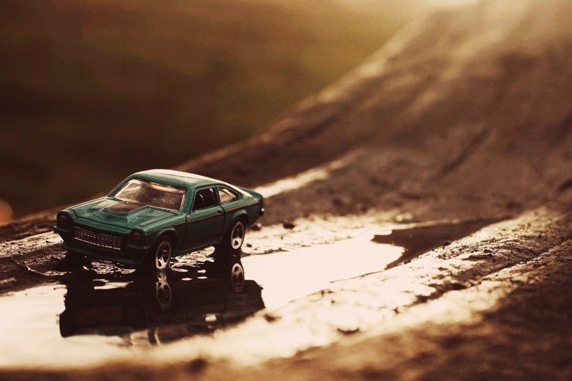 car, Sunlight, Toys, Macro, Hot Wheels, Chevrolet, Vega Wallpaper