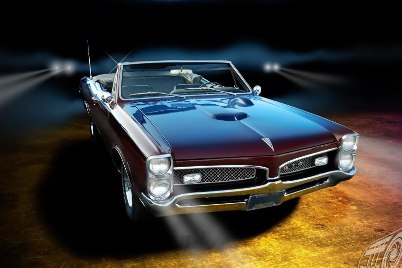 Pontiac GTO classic muscle cars wallpaper | 2560x1440 | 80318 | WallpaperUP