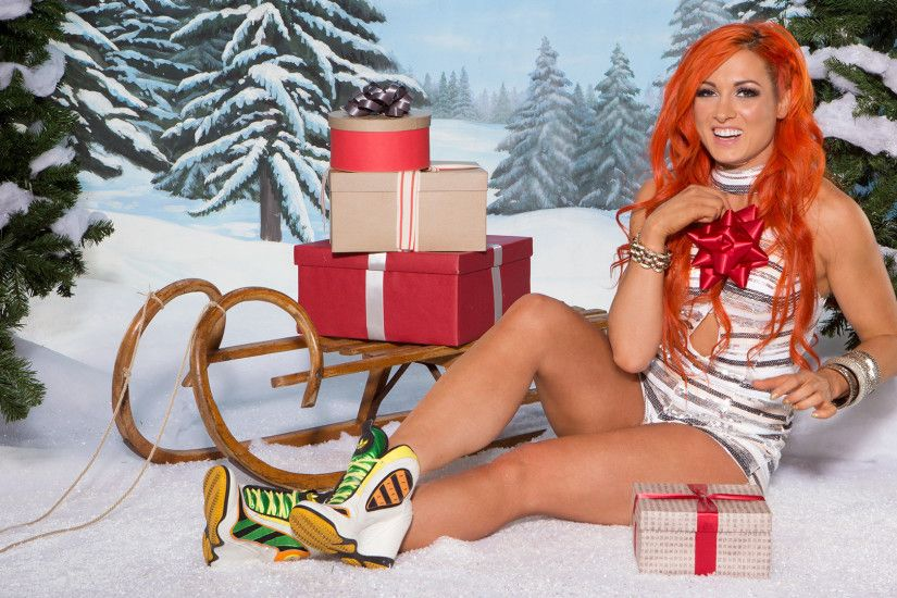 Becky Lynch: Winter Wonderland Photoshoot
