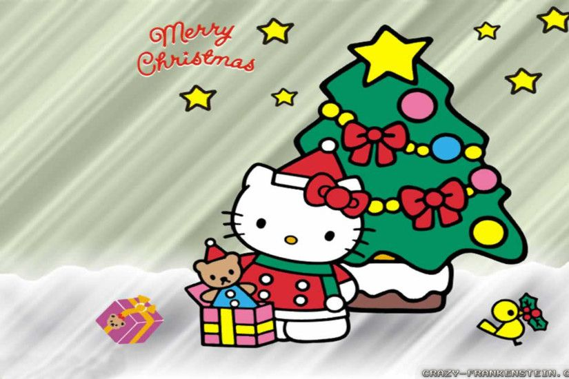 Wallpaper: Hello Kitty Christmas Resolution: 1024x768 | 1280x1024 |  1600x1200. Widescreen Res: 1440x900 | 1680x1050 | 1920x1200