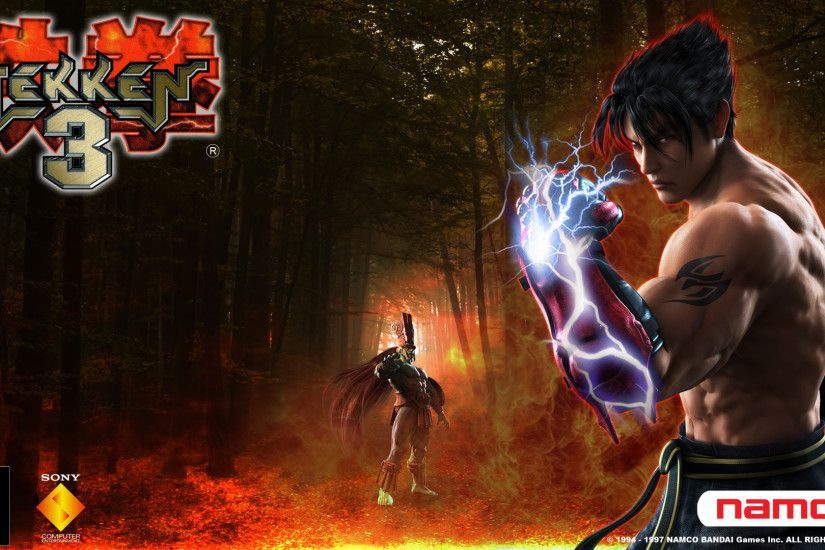 Video Game - Tekken 3 Ogre (Tekken) Jin Kazama Wallpaper