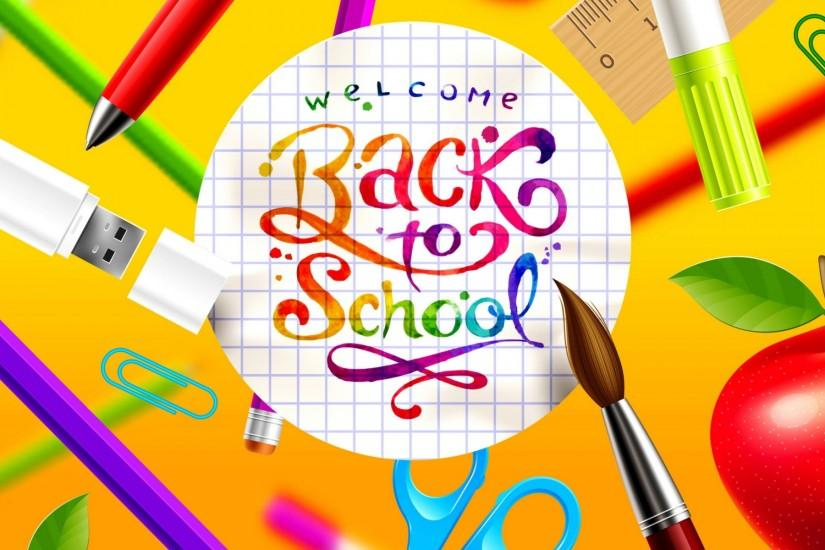 Beautiful Back to School Background.