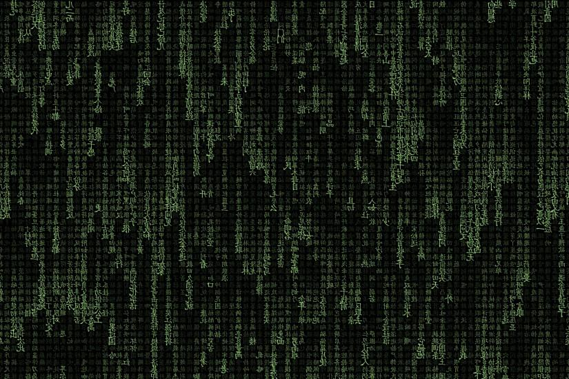 Chinese, The Matrix, Typography, Abstract Wallpaper HD