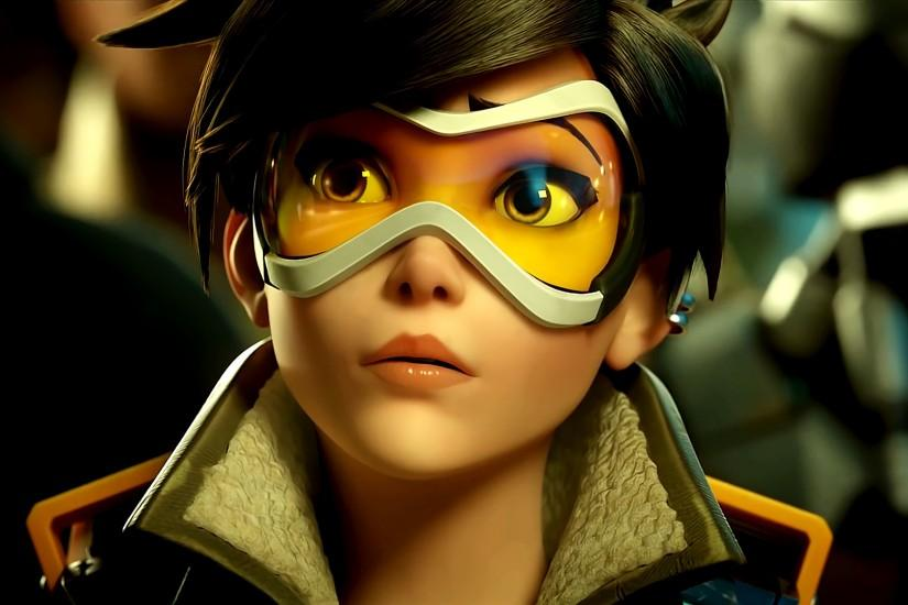 overwatch tracer wallpaper 1920x1080 hd for mobile