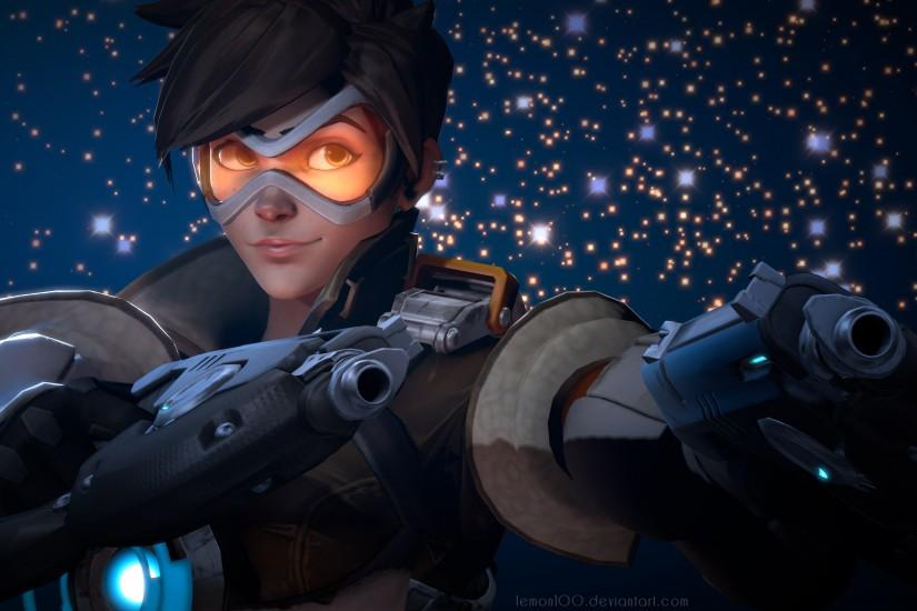 overwatch tracer wallpaper 3840x2160 for macbook