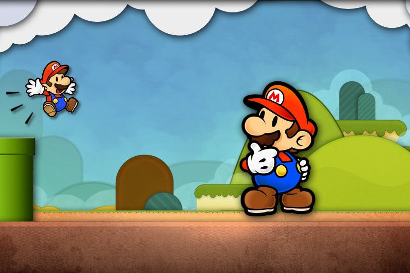 ... high definition collection paper mario wallpapers 38 full hd ...
