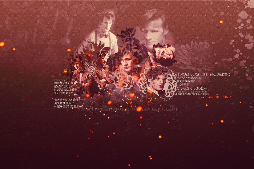 ... HappinessIsMusic Matt Smith as the doctor wallpaper by HappinessIsMusic