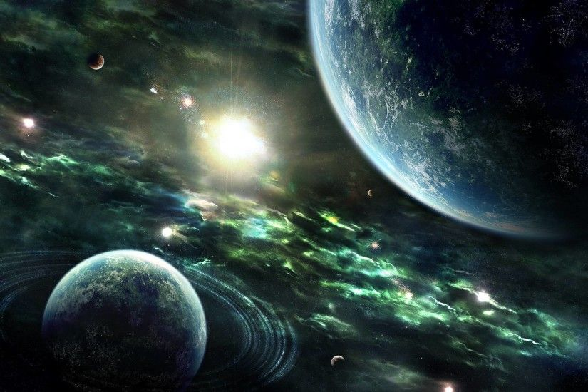 Images For > Awesome Space Background
