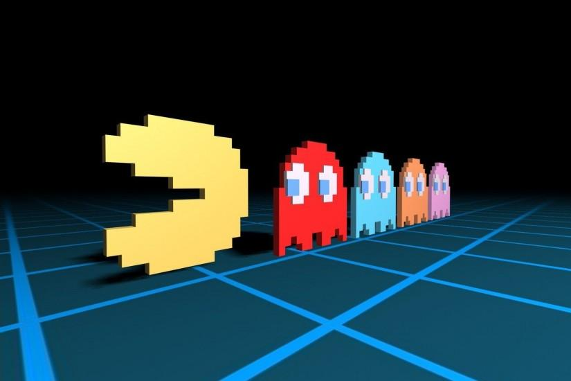 Classic Pacman Wallpaper | George Spigot's Blog