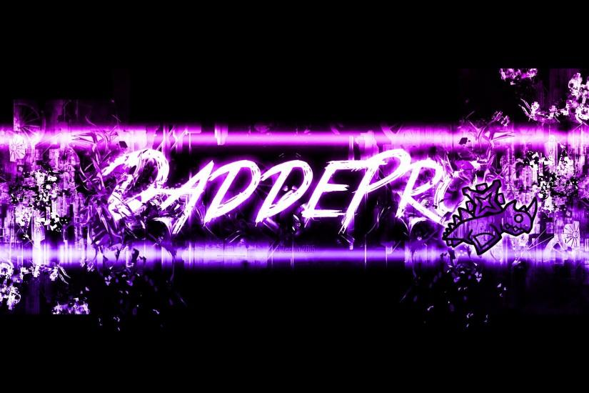 ... 'Geometry Dash' DaddePro's YouTube Banner ...