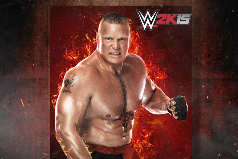 Free Download WWE Champion Brock Lesnar Wallpaper