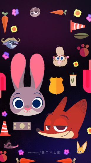 Springtime Disney animal wallpapers for your phone that will brighten your  day! | Zootopia |