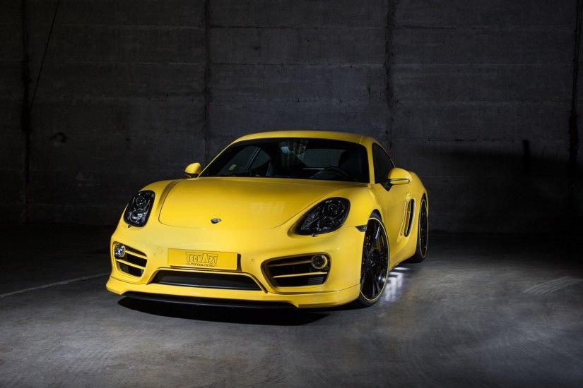 Automotive / Cars / Porsche Cayman Wallpaper