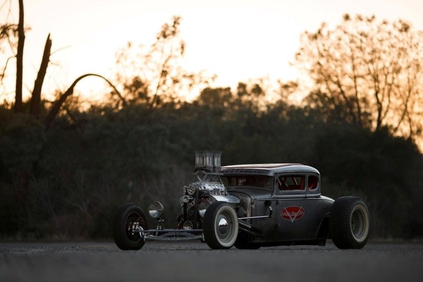 ford model a coupe hot rod rat rod