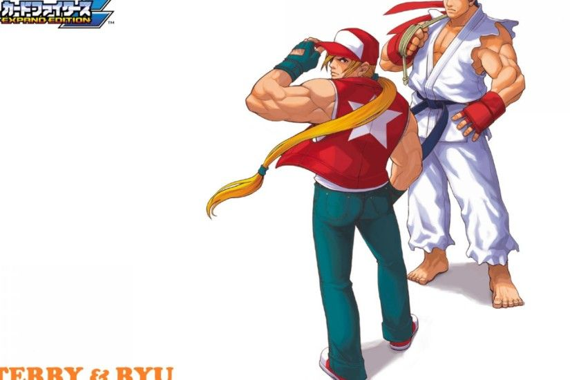 SNK vs Capcom 2 Expand Edition Ryu and Terry Wallpaper
