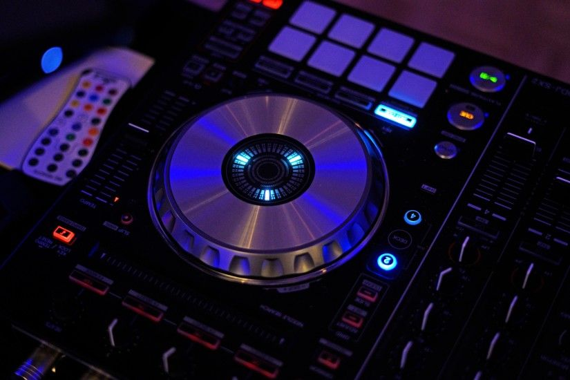Preview wallpaper dj, equipment, installation 3840x2160