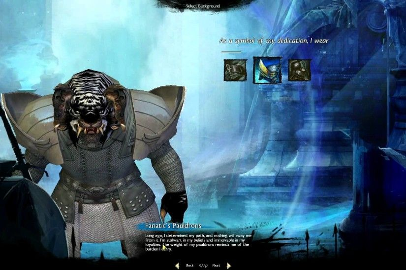Guild Wars 2 Character Creation Charr male Guardian - MMO HD TV (1080p) -  YouTube