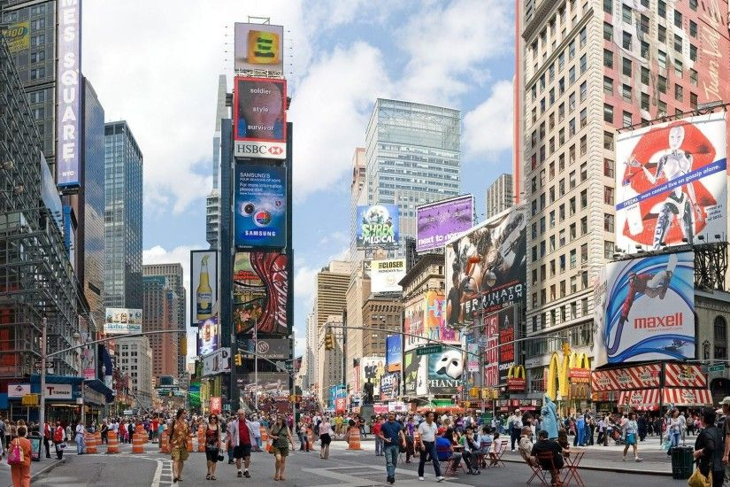 Cityscapes New York City Times Square wallpaper | 1920x1080 | 223141 |  WallpaperUP