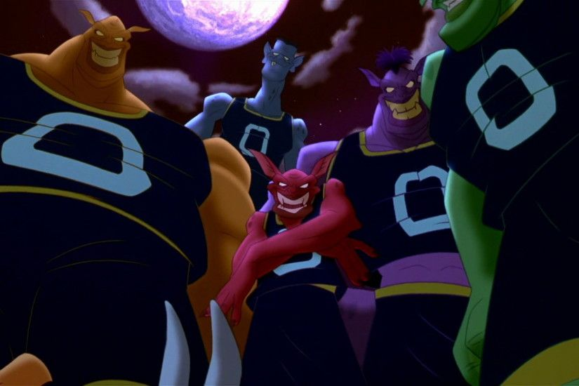 This is when we as the audience got to see the Monstars for the first time.  Bupkus, Bang, Pound, Blanko & Nawt as the Monstars.