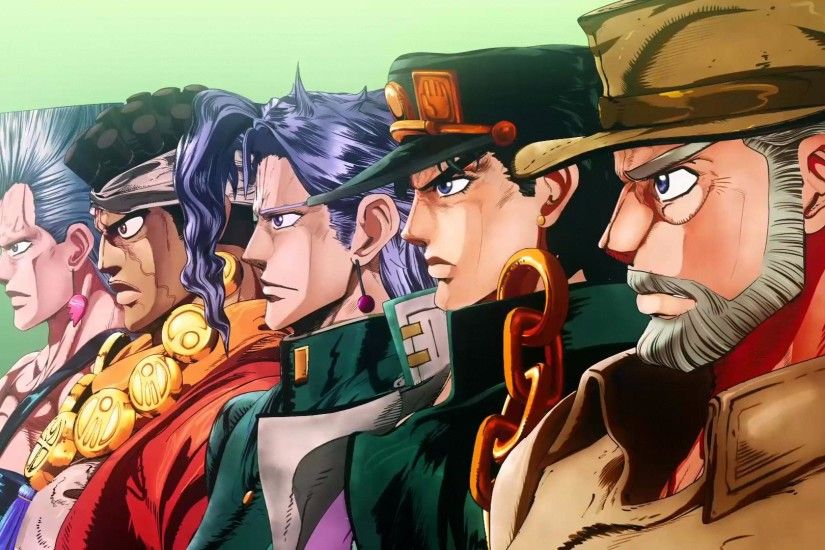 JoJo Bizarre Adventure Part Diamond is Unbreakable PV In