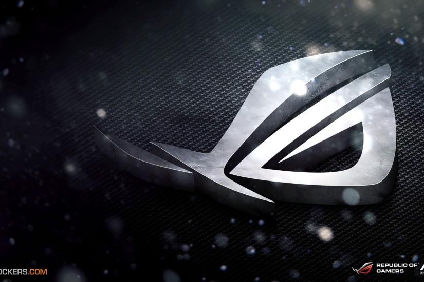 ASUS, Republic Of Gamers, Logo, Games - HD wallpapers