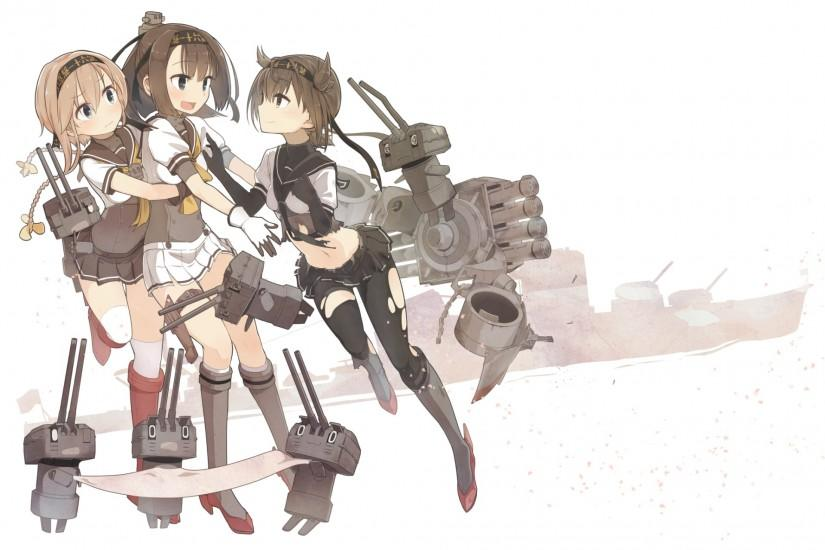 Anime Kantai Collection Akizuki (Kancolle) Hatsuzuki (Kancolle) Teruzuki ( Kancolle) Wallpaper