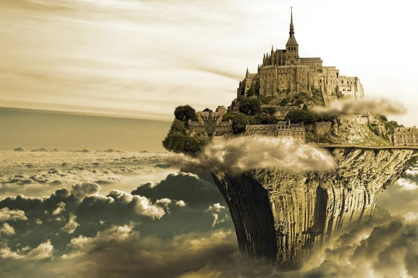 3D Fantasy Castle Wallpaper | Wallpaper Download