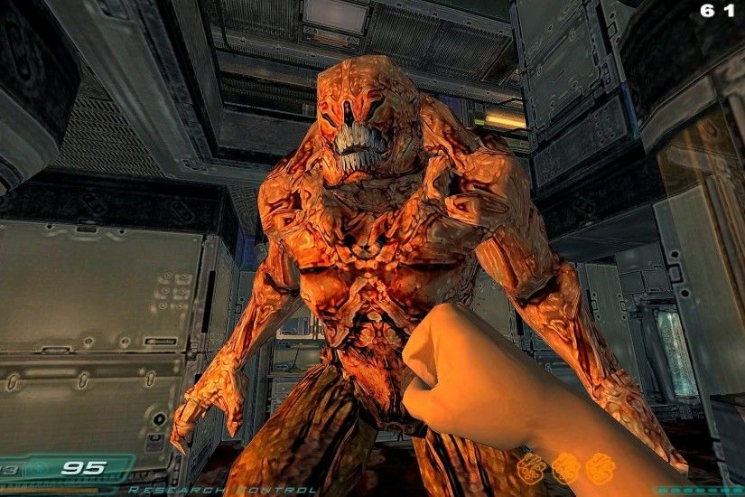 GX Gaming - Doom 3 MOD - [Doom 3 To Doom 2 v0.9] - [2/2] - RoE Levels [08 -  12]