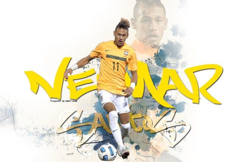 Neymar Grafite 2013 Wallpaper Wide or HD | Male Celebrities Wallpapers