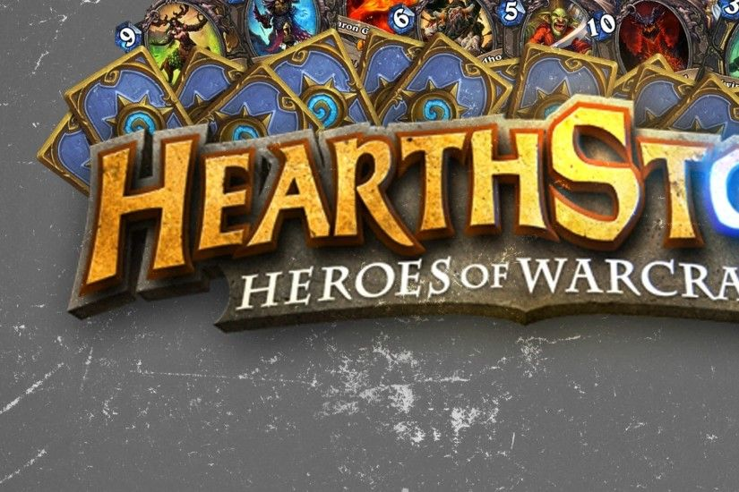 Preview wallpaper hearthstone, heroes of warcraft, maps, texture, logo  2048x2048