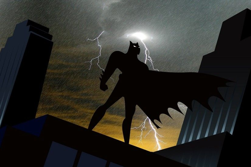 14 Batman: The Animated Series HD Wallpapers | Backgrounds - Wallpaper Abyss