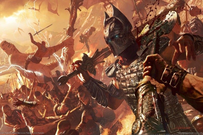 Video Game - Age Of Conan Battle Game Conan Age of Conan: Unchained  Creature Wallpaper