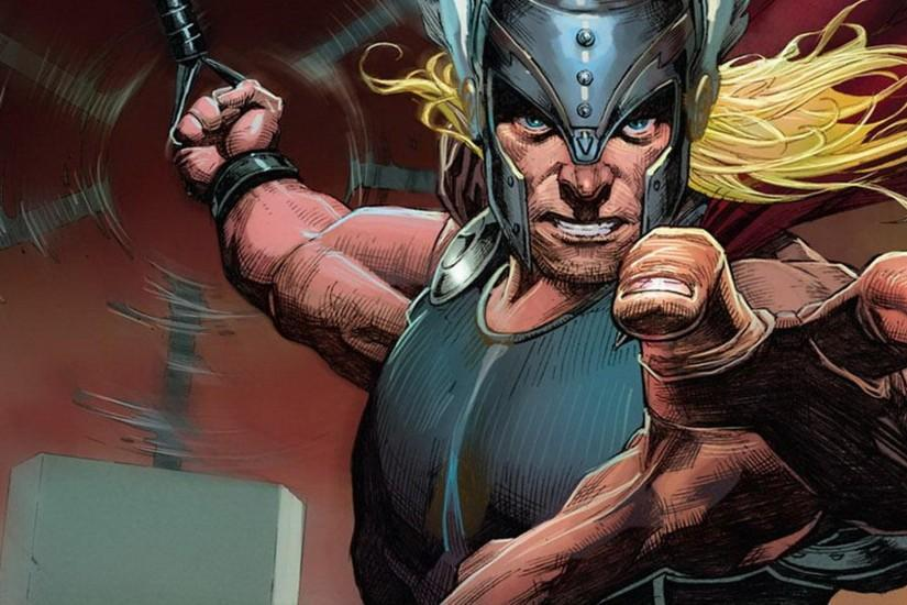comics Thor God hammer Marvel Comics Norse Avengers Mjolnir comic art  Marvel NOW HD wallpaper #1038177