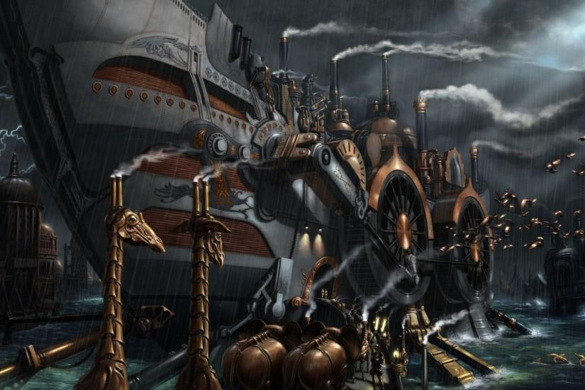 steampunk wallpaper 1920x1200 for mobile