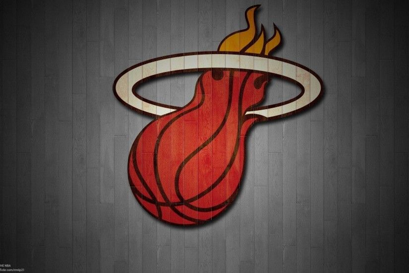 Download Miami Heat Logo Wallpapers by Brandon Lloyd