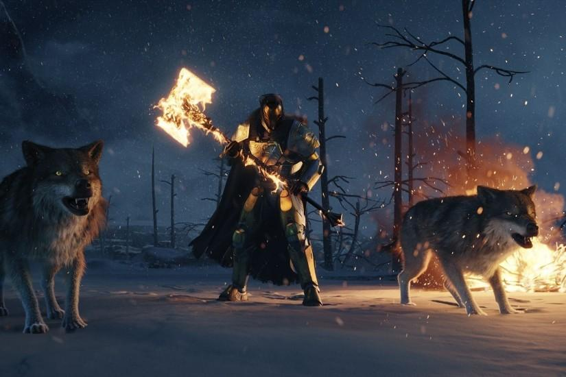 ... Destiny Rise Of Iron Wallpapers HD ...