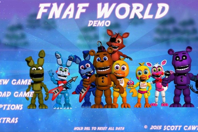 Five Nights at Freddy's World (FNAF WORLD) Gameplay Demo Teaser Trailer Fan  Made - YouTube