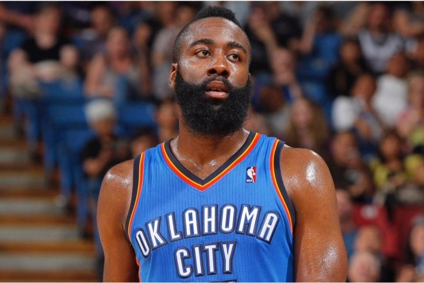Oklahoma City Thunder 2016 James Harden 4K Wallpapers