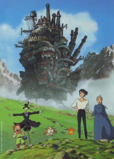 new howls moving castle wallpaper 2111x2953 for meizu