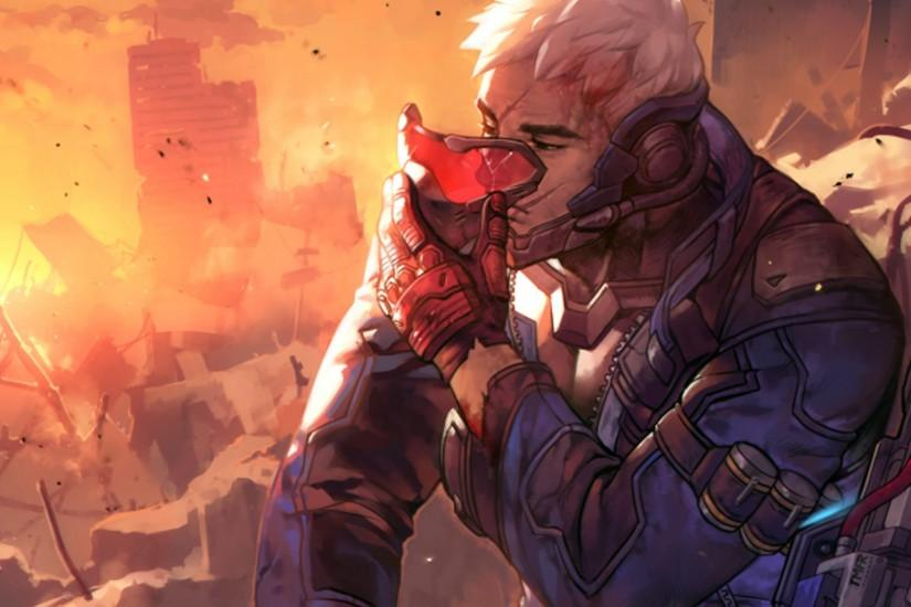 beautiful soldier 76 wallpaper 1920x1080 for mobile hd