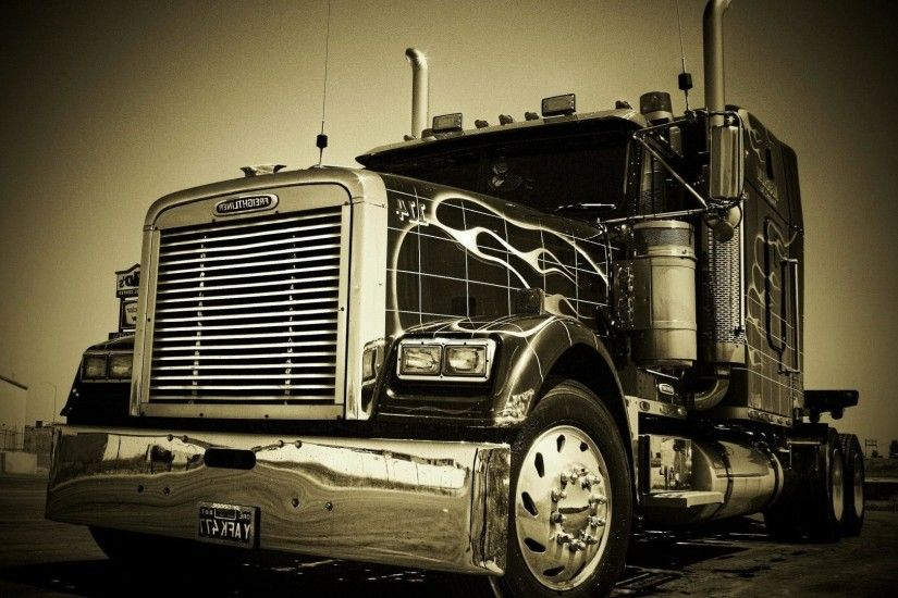 18 wheeler semi trucks wallpaper | (111058)