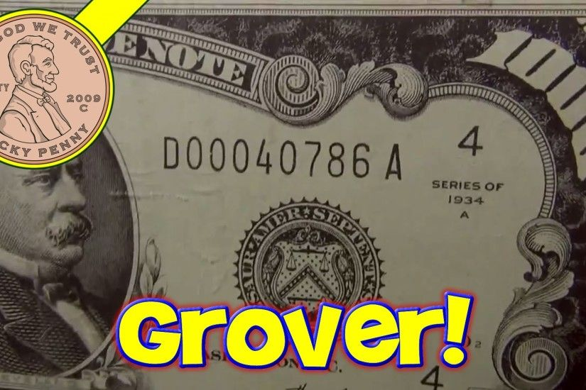 $1000 Dollar Bills Grover Cleveland Ruled Money Memo Desk Note Pads, Planet  Greetings - YouTube