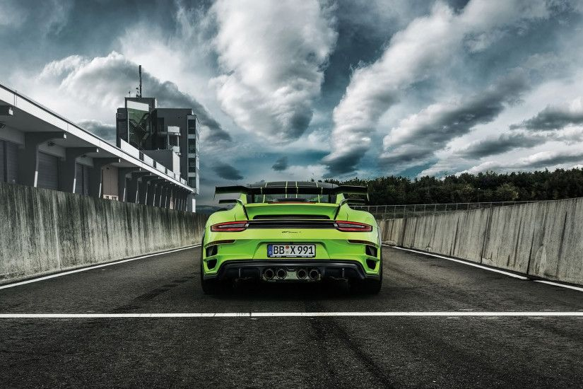 2016 TechArt Porsche 911 Turbo GTstreet R 4