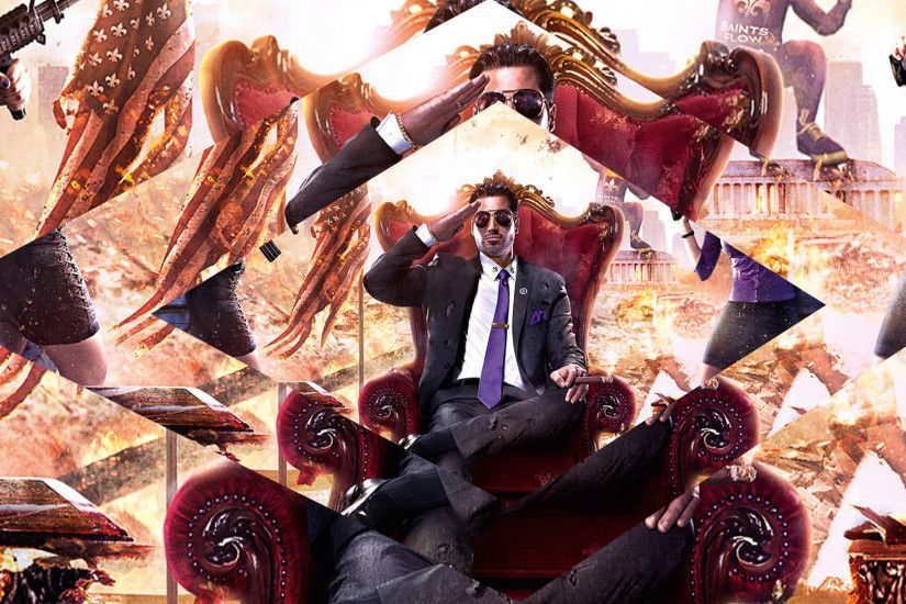Saints Row IV Wallpaper by dinamito3000 Saints Row IV Wallpaper by  dinamito3000