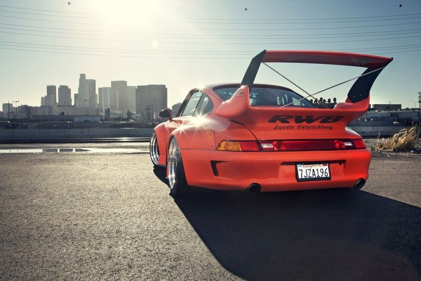 1995 porsche 911 widebody kit rwb coupe cars wallpaper | 2048x1360 | 798980  | WallpaperUP