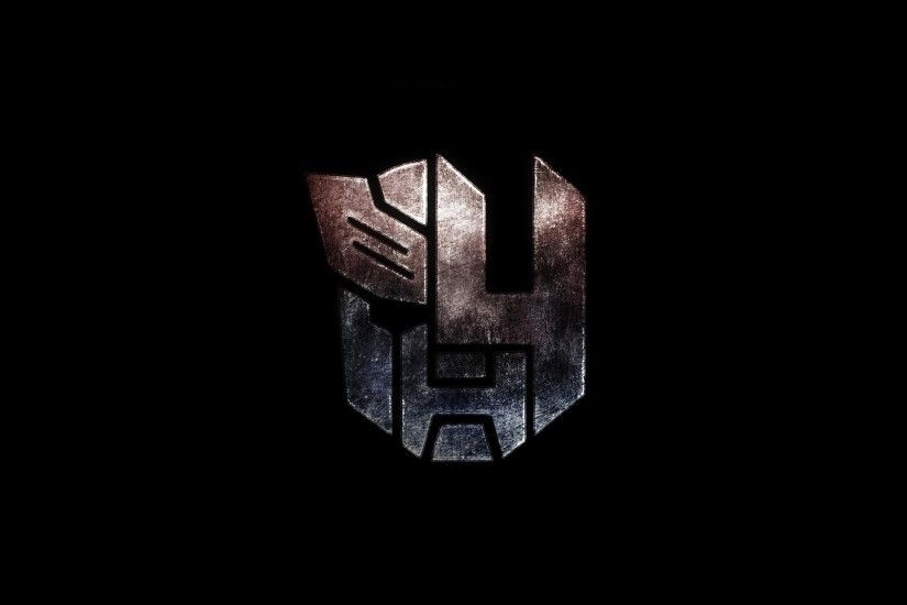 autobots logo transformers 4 age of extinction 2014 movie hd wallpaper