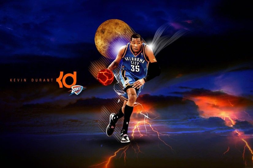 Kevin Durant Oklahoma City Thunder Wide or HD | Male Celebrities .